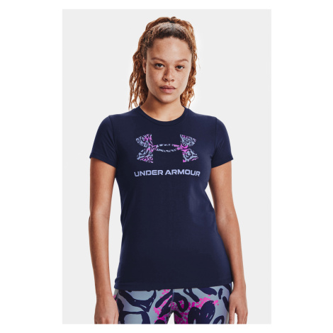 Modré tričko Under Armour Sportstyle Graphic