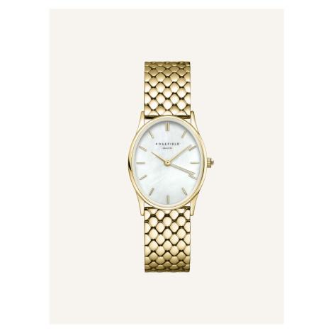 Dámské hodinky s nerezovým páskem ve zlaté barvě Rosefield Rosefield