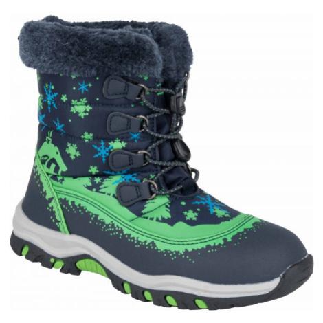 ALPINE PRO TREJO bílá - Dětská zimní obuv