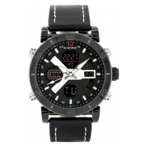 Pánské hodinky NAVIFORCE - NF9132 (zn073a) - černé + box