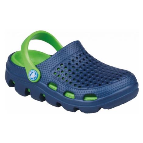 Coqui BUGY tmavě modrá - Dětské sandály