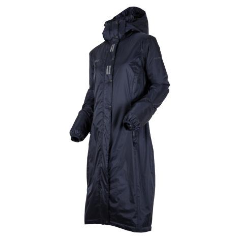 Kabát jezdecký nepromokavý Regular Sport UHIP, dámský, navy blue