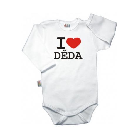 DEJNA Body dl. rukáv Kolekce I Love Děda, K19, vel.
