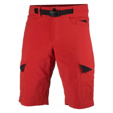 NORTHFINDER GARTON Pánské šortky BE-3270OR360 červená