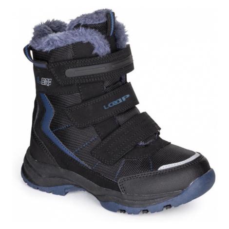 LOAP SNEEKY Dětské zimní boty KBJ1888V20L m.night/skydiver