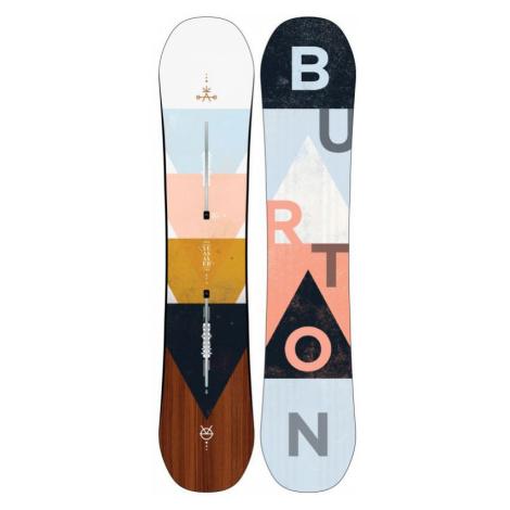 SNOWBOARD BURTON YEASAYER WMS - šedá