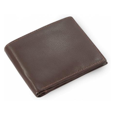 Tmavě hnědá pánská kožená peněženka Marien Arwel