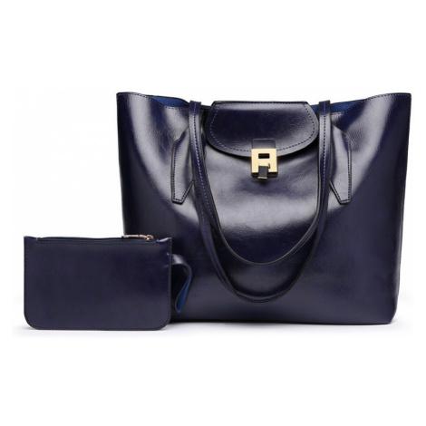 Modrá dámská luxusní kabelka 2v1 Terren Lulu Bags