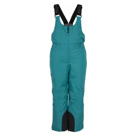 KILPI Dívčí lyžařské kalhoty FUEBO-JG JJ0024KITRQ Tyrkysová