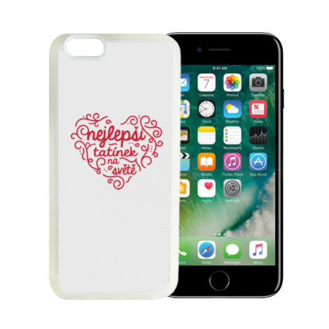 iPhone 7/8 kryt gumový soft Nejlepší tatínek na světě