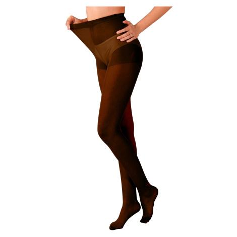 Blancheporte Maxi punčochové kalhoty, sada 5 ks černá