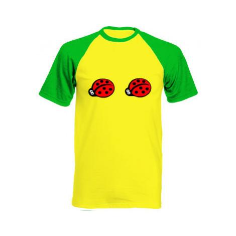 Pánské tričko Baseball Berušky