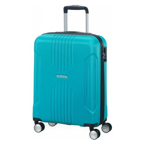 American Tourister Kabinový cestovní kufr Tracklite Spinner 34G 34 l - stříbrná