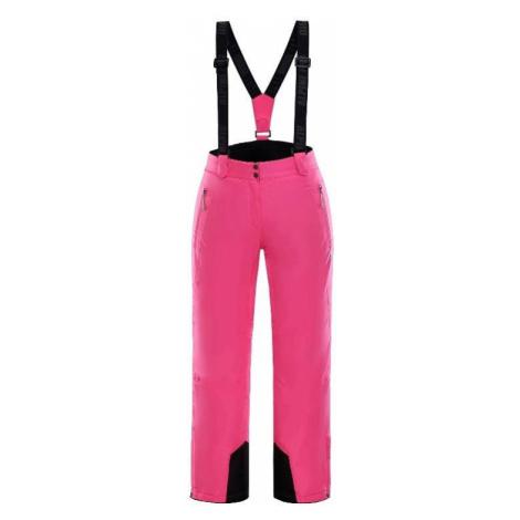 Dámské lyžařské kalhoty Alpine Pro MINNIE 3 - růžová