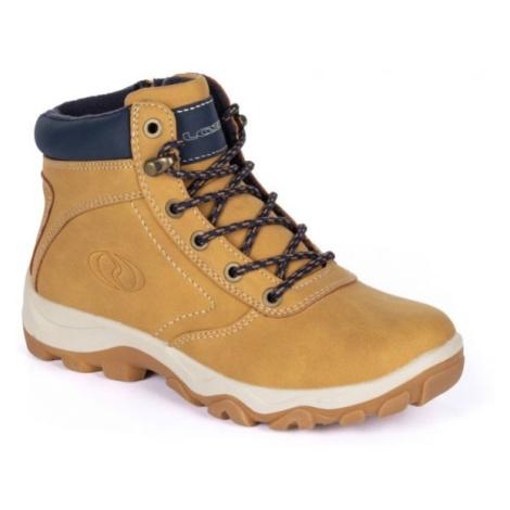 Loap ACTINA J béžová - Dětská zimní obuv