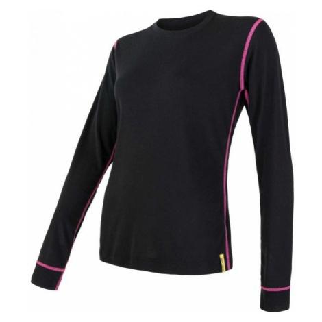 Sensor ACTIVE W DL černá - Lehké funkční prádlo