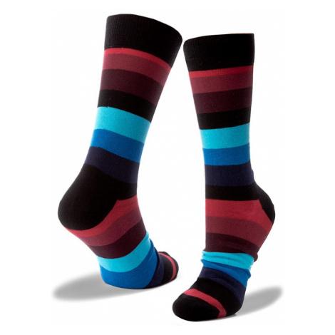 Pánské klasické ponožky HAPPY SOCKS - SA01-068 Barevná