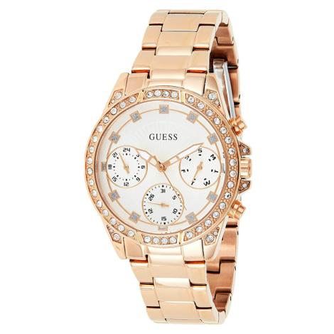 Guess dámské růžové hodinky