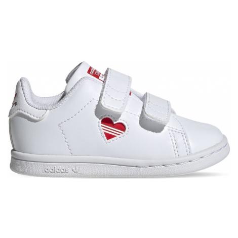 Adidas Stan Smith Kids bílé FZ2835