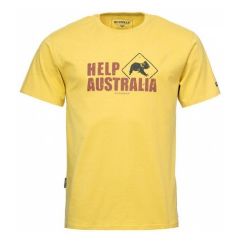 Bushman Tričko Help Australia yellow