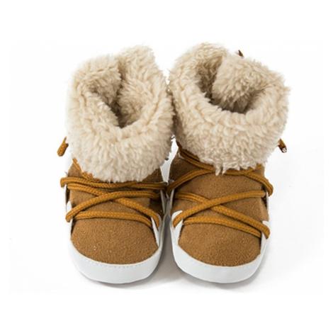 Pidilidi kojenecké capáčky zimní, Pidilidi, PD0560, hnědá