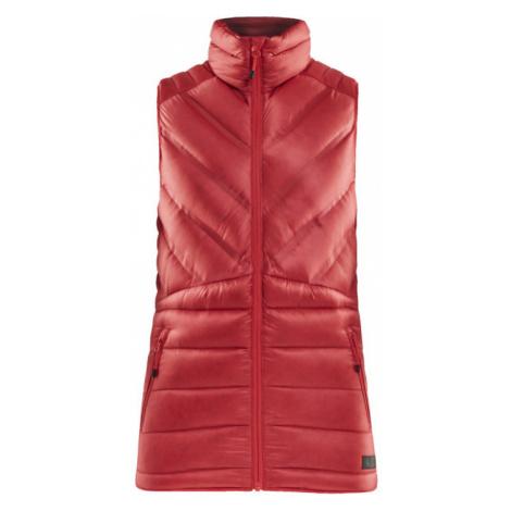 Dámská vesta CRAFT Lightweight Down červená