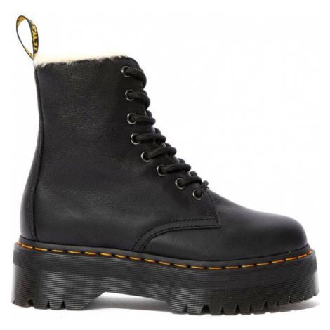 Dr. Martens Jadon Faux Fur Lined platform boots černé DM25637001 Dr Martens