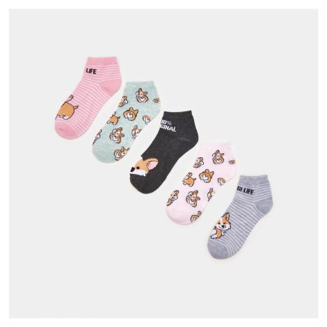 Sinsay - Sada 5 párů ponožek