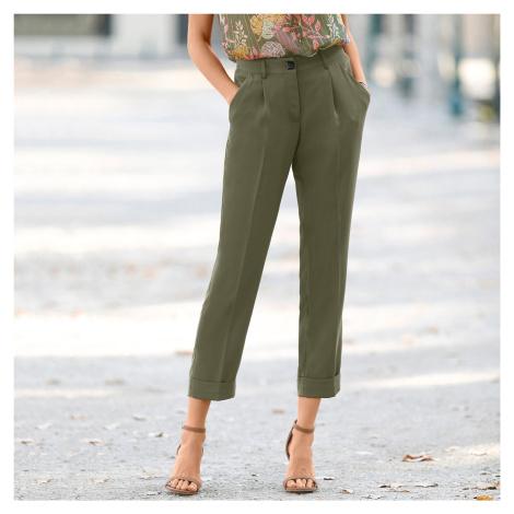 Blancheporte 7/8 vzdušné kalhoty bronzová