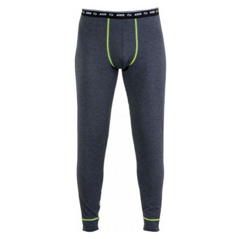 Axis TERMO KALHOTY M tmavě šedá - Pánské termo kalhoty