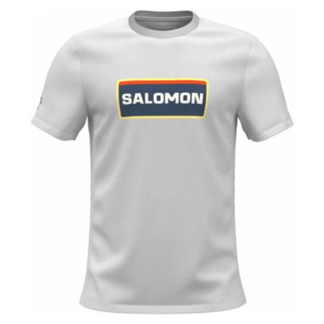 Pánské triko Salomon Outlife Graphic Heritage Ss
