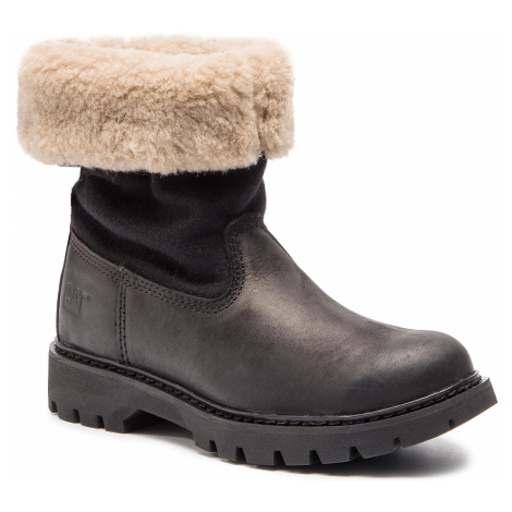 Polokozačky CATERPILLAR - Showcase Fur P310535 Black
