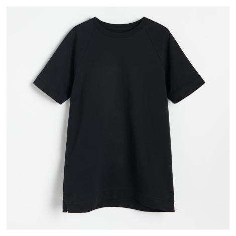 Reserved - Dlouhé tričko - Černý