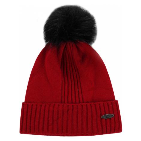 ALPINE PRO KASCE Unisex zimní čepice UHAP073445 purpurová