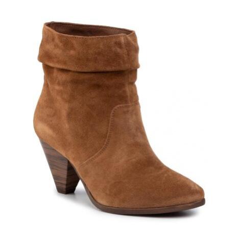 Kotníkové boty Lasocki 70600-06 Přírodní kůže (useň) - Semiš