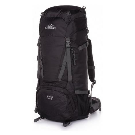 Turistický batoh Loap Atlas 70+10 Barva: černá/šedá