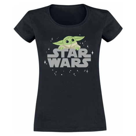 Star Wars The Mandalorian - Baby Yoda - Grogu Dámské tričko černá