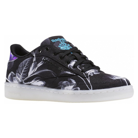 Boty Reebok Club C 85 Xray black-white-wild blue
