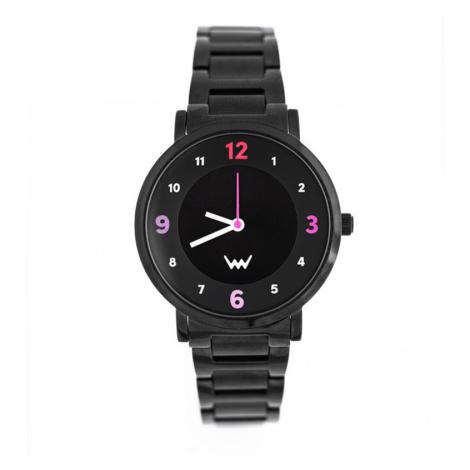 Černé hodinky Sheila VUCH