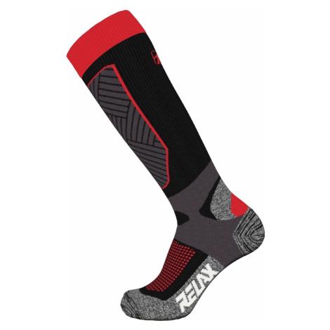 Ponožky Relax Compress RSO30 - černá/červená