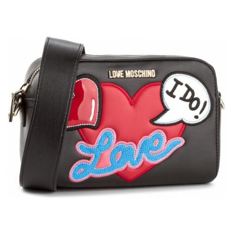 Černá kabelka LOVE MOSCHINO