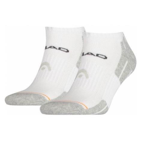 Head PERFORMANCE SNEAKER 2P bílá - Ponožky