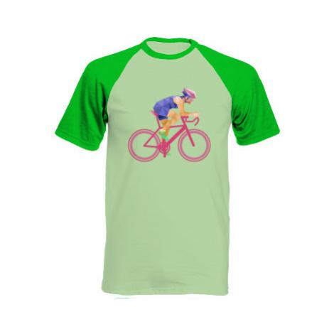 Pánské tričko Baseball Cyklista