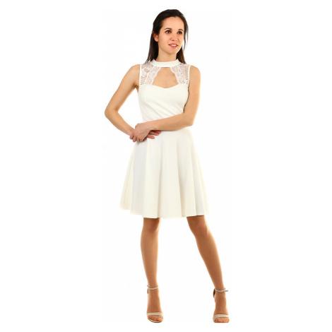 Společenské šaty s krajkou do tanečních