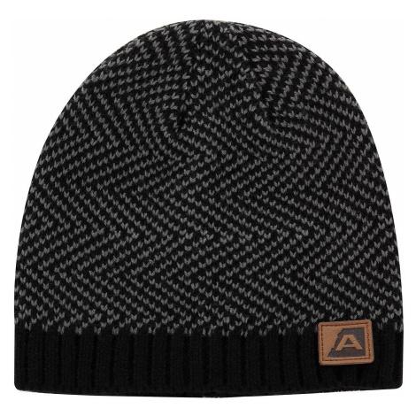 Zimní čepice Alpine Pro HILARGE - černá