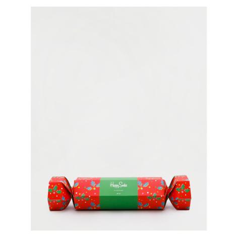 Happy Socks Christmas Cracker Holly Gift Box XHOL02-4300