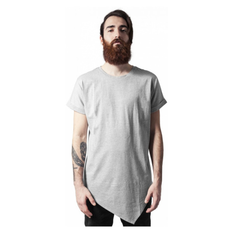 Asymetric Long Tee - grey Urban Classics