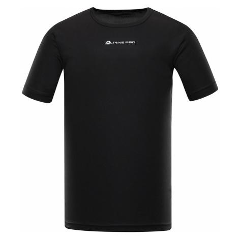 ALPINE PRO NASMAS 3 Pánské funkční triko MTSR463990PA černá