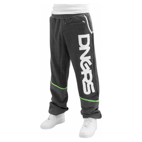 Dangerous DNGRS kalhoty pánské Sweat Pant Crosshair in gray tepláky