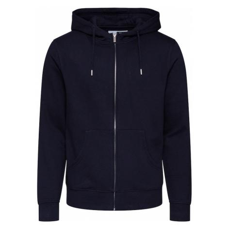 !Solid Mikina s kapucí 'Morgan Zip' černá